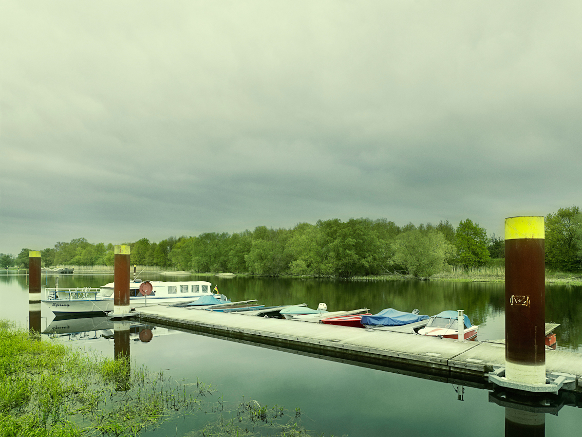 Die Marina Kienitz befindet sich an einem Seitenarm der Oder im Ort Kienitz im Oderbruch. Position ist N52 40.426 E14 26.616 Die Aufnahme wurde um 15:18 Uhr gemacht.
