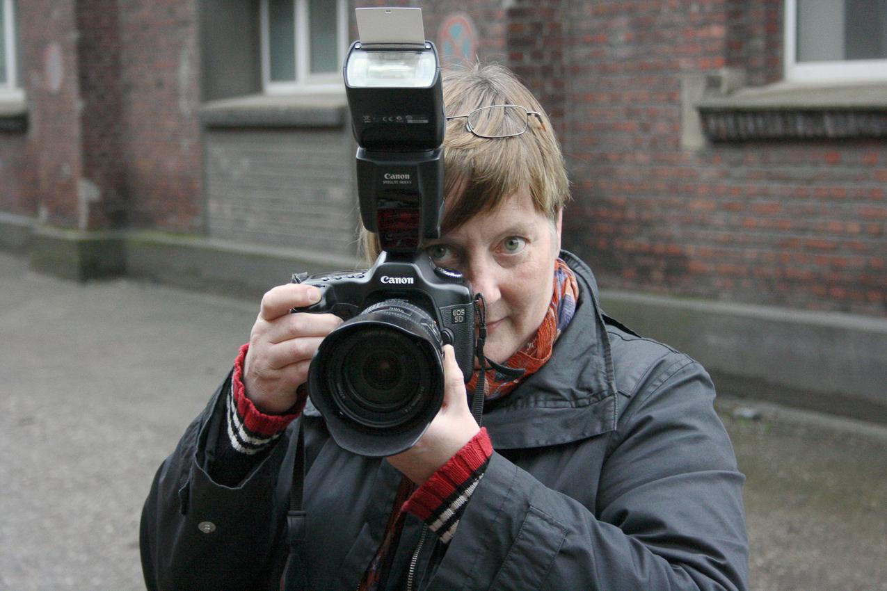 Fotografiert von der Bildenden Künstlerin (Malerei) und Kunsttherapeutin Sabine Hulvershorn auf dem Gelände der ehemaligen Zeche Lohberg, im Kreativquartier: Edda Treuberg.