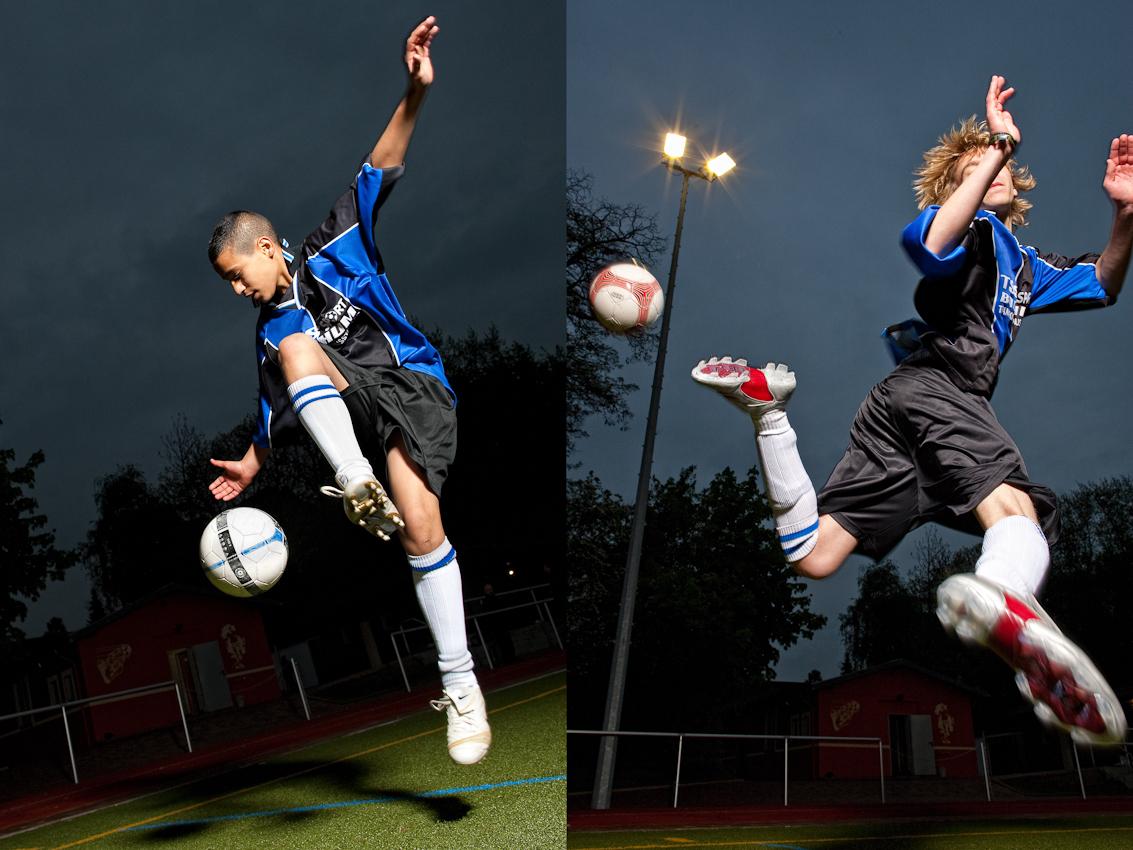 Die erste Mannschaft der C-Jugend des DJK Wattenscheid ist in der Kreisliga C auf dem ersten Platz.
