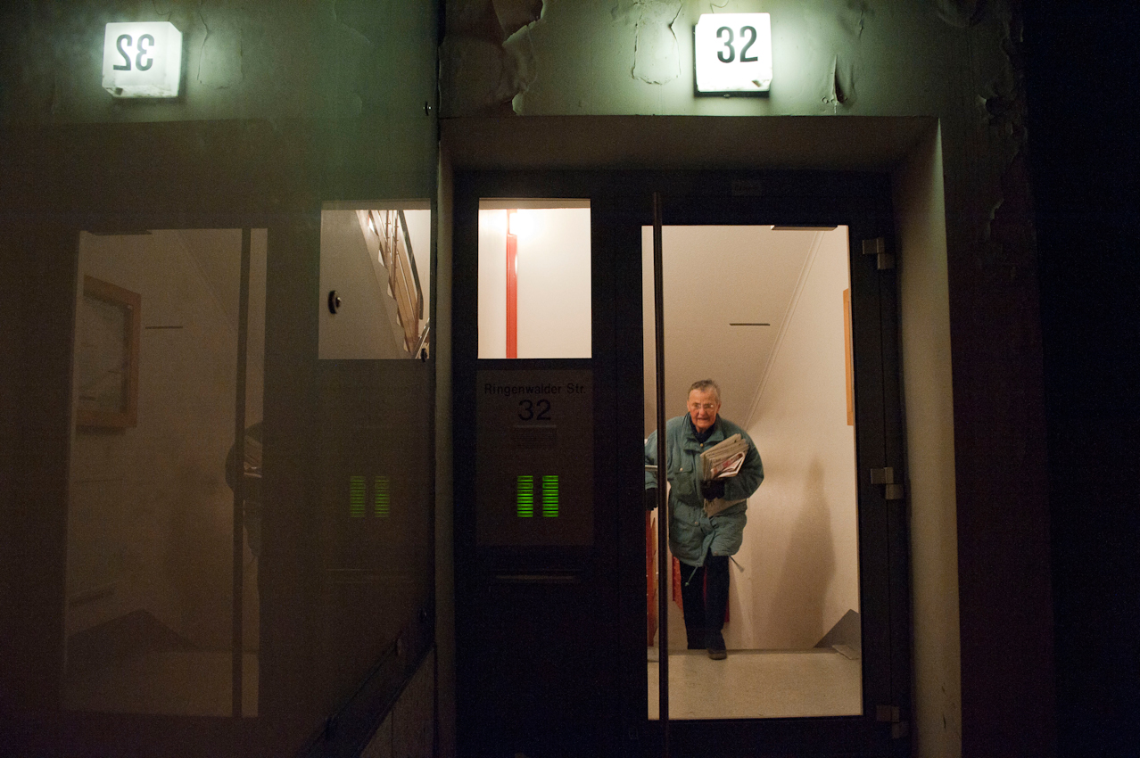 04.16 Uhr. Doris Kramer läuft täglich viele Treppen auf und ab.