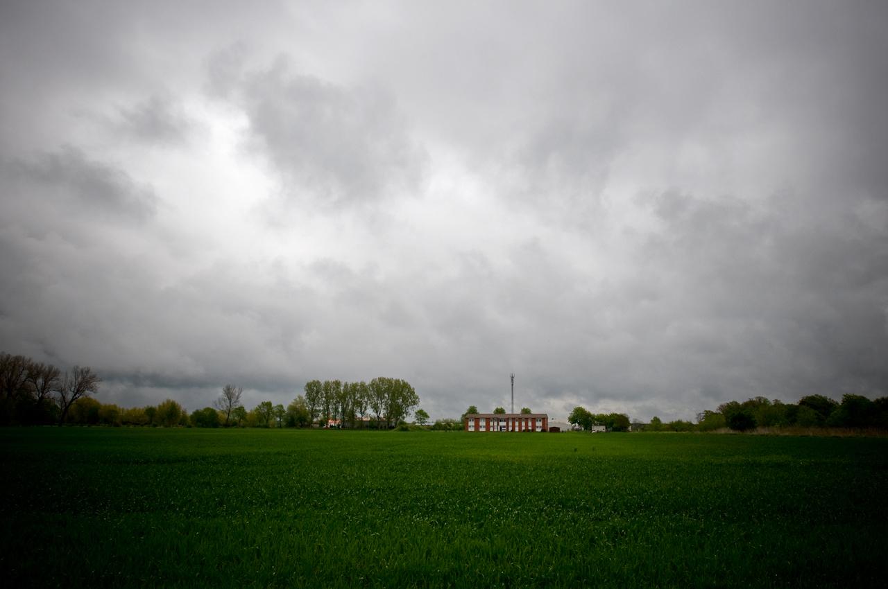 Die Gemeinschaftsunterkunft für Asylsuchende in Meinersen. Hier kommen auf jeden Bewohner lediglich fünf Quadratmeter Wohnfläche.
