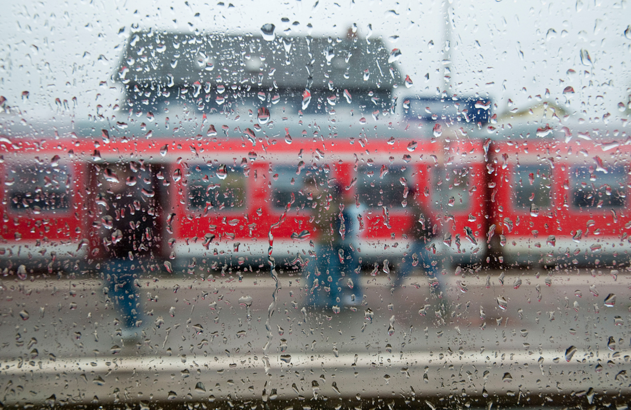 In den ersten sechs Tagen des Mai 2010 war Nordfriesland die sonnigste Region in ganz Deutschland. Ausgerechnet am Morgen des 7. Mai begann es zu regnen - in Itzehoe hat es um 7:41 Uhr geschüttet.