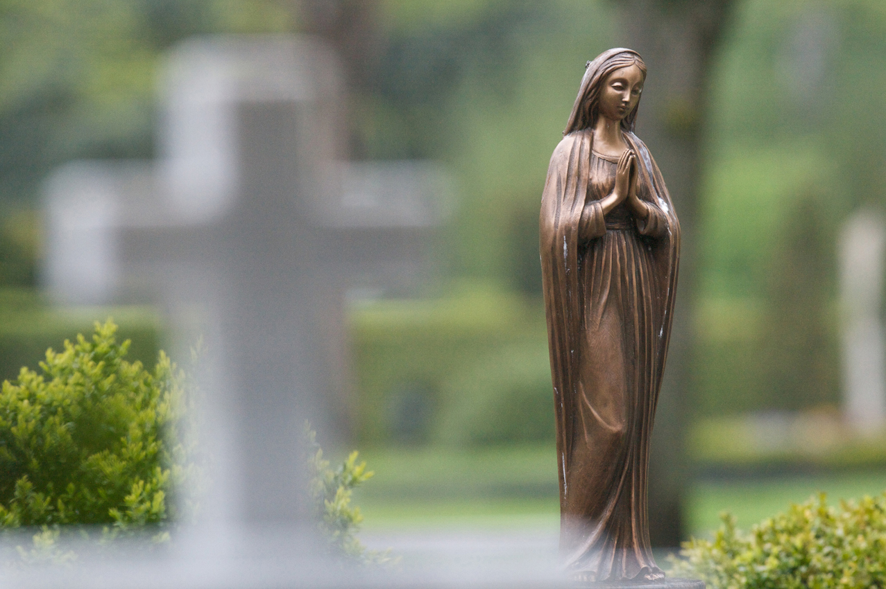 Friedhofsimpression.