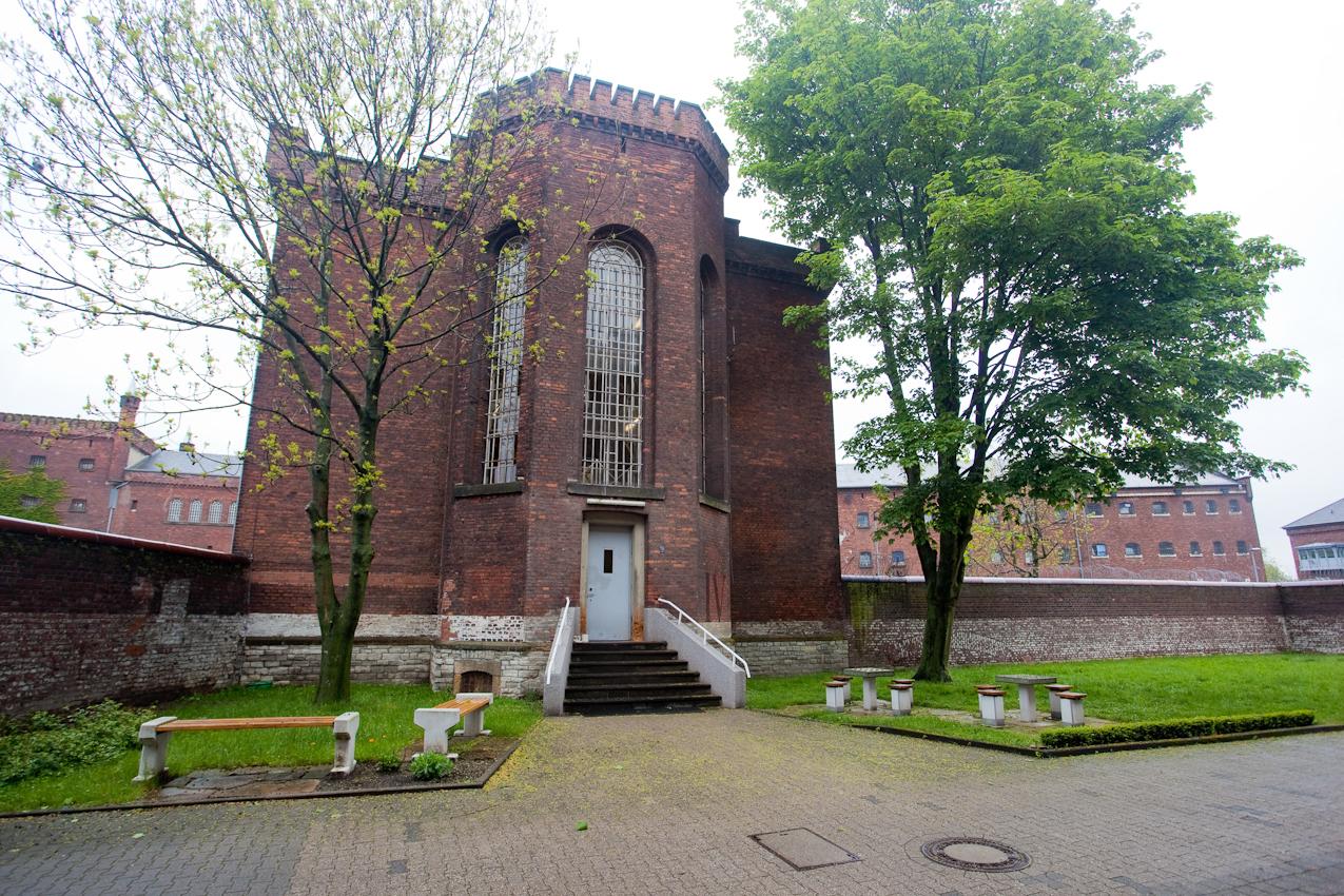 Justizvollzugsanstalt (JVA) Münster: Vorbild für die ab 1848 errichtete preußische Gefangenenanstalt war das Zuchthaus in Berlin Moabit.