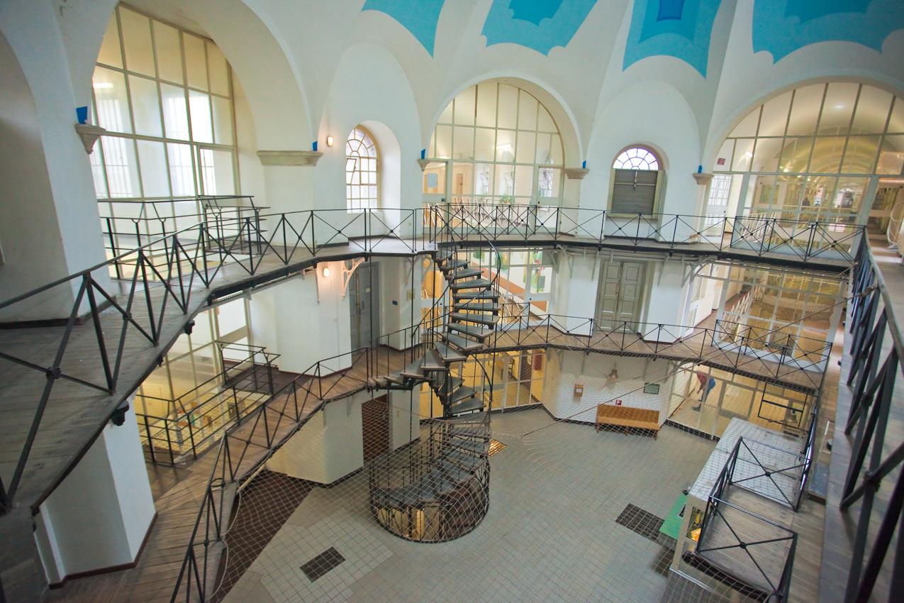 In der Justizvollzugsanstalt Münster.